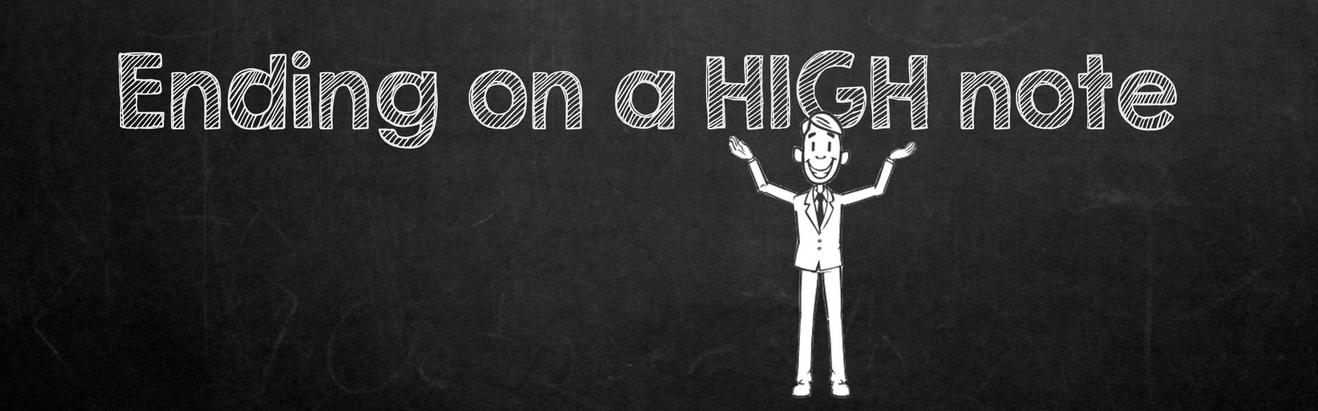 Ending on a high note – The Learning Avenue